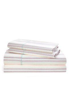 Ralph Lauren Claudia Stripe King Sheet Set $220