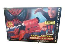 Spider-Man Dual Action Web Blaster Spider-Man 2001 Movie Toy