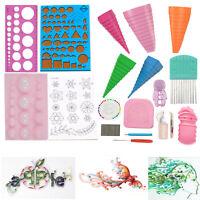 18pcs Quilling Paper Kit Cork DIY Craft Workboard Slotted Tool Art Creation UK
