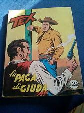 TEX LA PAGA DI GIUDA NUMERO 106 COLLANA GIGANTE DICEMBRE 1972 ARALDO EDITORE