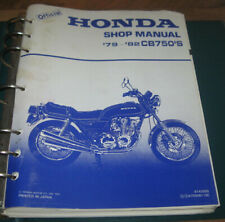 1979-1982 HONDA CB750's Shop Service Manual_CB750K LTD CB750F CB750C_w/binder