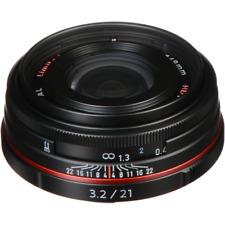 Pentax 21mm f/3.2 AL Limited - Black (HD) Lens BRAND NEW UK STOCK