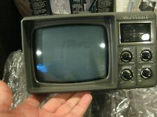 "Vintage Bentley Deluxe Portable 5"" Black & White TV Television Battery Power NEW"