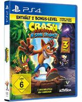 Crash Bandicoot N-Sane Trilogy + 2 Bonus Level (PS4) (NEU & OVP) (Blitzversand)
