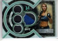 2018 Topps UFC Museum Collection PAIGE VANZANT Quad Swatch RELIC 14/50