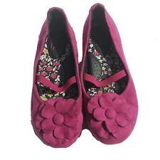 Girls  BOC Shoes  Size 10 Toddler Ballet Flat Flower