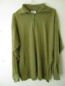 British Army Norgie Thermal Top Cold Weather Green Military Surplus