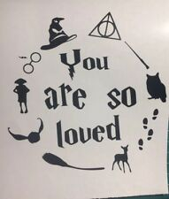 Harry potter Quote Saying Car Window Sticker Laptop Sticker Wall Art
