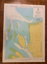 BAY OF BENGAL - BURMA Mergui Harbour ADMIRALTY CHART 218 / 1973