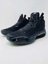 Jordan XXXIV 34 Triple Black Cat Basketball Shoes (AR3240-003) Men's Size 11.5