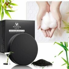Activated Charcoal Crystals Handmade Soap Face Skin Soap For Remove Blackhead