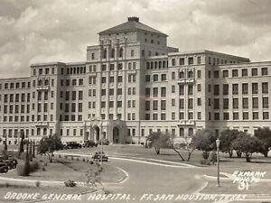 Ft Sam Houston Brooke Hospital General Postcard Picture RPPC Tx  Military Texas