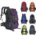 50L Sac à Dos Backpack Bag Etanche Outdoor Randonnée Camping Voyage Alpinisme