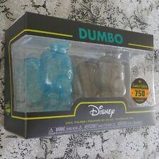 Dumbo Blue and Gray Hikari XS Vinyl Figure 2-Pack Disney NIB