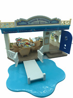 Calico Critters Sylvanian Families Seaside Restaurant RETIRED