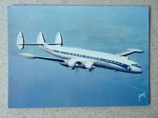 CARTE POSTALE LOCKHEED CONSTELLATION SUPER G F-BHBB AIRLINER AIR FRANCE AIRLINE