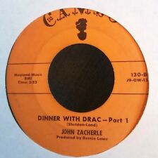 Halloween Novelty and 2 other Rare 1950's 45's~Rock, R&B *Dinner with Drac*