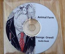 Animal Farm - George Orwell Audio Book CD (Sony CD)