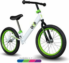 "Bixe 16"" Pro Balance Bike for for Big Kids 5, 6, 7, 8 and 9 Years Old Green"