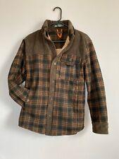 Fashion Military Supplies Series Mens Jacket Plaid/corduroy Fleece Lined Small