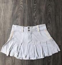 NEW Da Nang Women's Silk Casual Skirt Light Blue Size Small