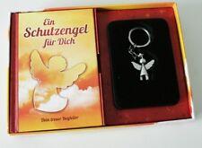 Schutzengel Box Schlüsselanhänger und Geschenkbuch Talisman angel Schlüsselring