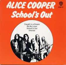 "ALICE COOPER ""SCHOOL'S OUT EP"" ORIG AUS 1973 M-/EX"