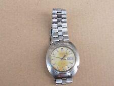 Vintage Seiko EL-370 Electronic Balance Wheel Gents Wrist Watch-For Repair