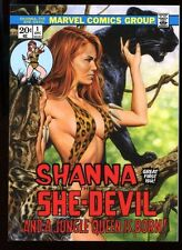 2016 Marvel Masterpieces WHAT IF... Card 20 #1264/1499 - SHANNA THE SHE-DEVIL