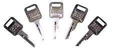5 Ignition Keys For Case Bobcat Backhoe Amp Skidsteer Heavy Equipment Case Logo