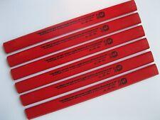 J. S. Bach Carpenter Pencil - 6 pack, color: Red