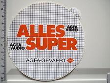 Adesivo sticker AGFA FOTO FILM-GEVAERT-AUDIO VIDEO - 80er-DECAL (2464)