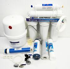 5 Levels System Reverse Osmosis Water Filter Drehwasserhahn