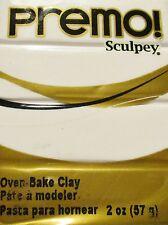 Sculpey PREMO - Polymer Clay - 57g - WHITE