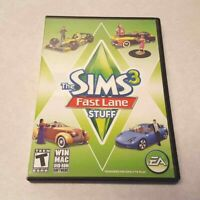 The Sims 3 Fast Lane Stuff Pack PC/MAC Game DVD-ROM Complete Serial Key