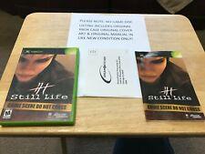 Still Life Original Xbox Original Case Cover Art Manual NO GAME