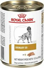 Royal Canin Veterinary Diet Urinary SO For Dogs 24/13.6oz Canned Food -FREE SHIP