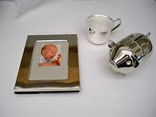 INTERNATIONAL SILVER COMPANY SILVERPLATED BABY SET