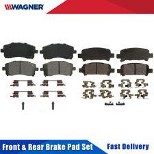 Front & Rear 8 PCS Wagner Disc Brake Pads Set Kit For SUBARU FORESTER 1998-2002