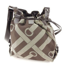 Lancel Shoulder bag Logo Beige Brown Woman unisex Authentic Used T3918