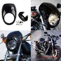 Front Headlight Cowl Fairing Mask Visor Cover For Harley Dyna Sportster FX XL
