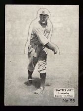 1934-36 NATIONAL CHICLE BATTER-UP~#35~ROGERS HORNSBY~UNPOPPED~PRICED TO SELL PTS