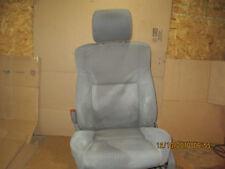 2006 2007 JEEP COMMANDER POWER FRONT LEFT DRIVER SEAT CLOTH MEDIUM SLATE GRAY