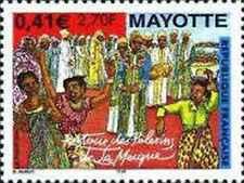 Timbre Religion Mayotte 100 ** année 2001 lot 14207