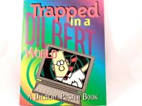 VG!! Trapped in a Dilbert World poster book 8 Posters