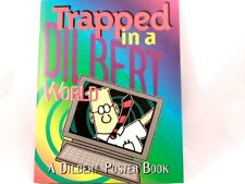 BRAND NEW!! Trapped in a Dilbert World poster book 8 Posters