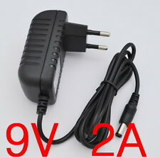 AC Converter Adapter DC 9V 2A Power Supply Charger 18W EU plug DC 5.5mm 2000mA
