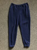 Vintage Patagonia Blue Fleece Pant Sz XL T Snap Made In USA
