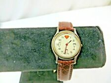 """Collectible Fossil Inscribed """"To Superman, Love Lois"""" Wristwatch"""