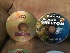 Mixed Lot of 20 Sound Choice CDG+ Karaoke Music Discs